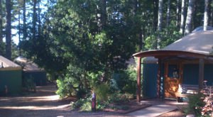 This Oregon Park Has A Yurt Village That's Absolutely To Die For