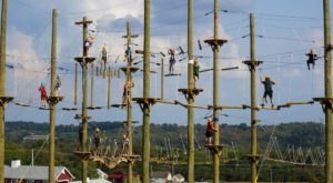 This Aerial Adventure Course In Pennsylvania May Be The Most Fun You've Had In Ages