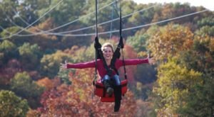Take A Canopy Tour At Shepherd Of The Hills Adventure Park In Missouri To See The Fall Colors Like Never Before