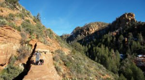 The Magnificent Bridge Trail In Arizona That Will Lead You To A Hidden Overlook
