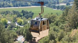 This Aerial Tram Ride Shows Off The Northern California Countryside And It's Gorgeous