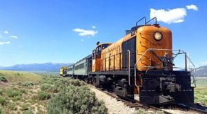 This 20-Mile Train Ride Is The Most Relaxing Way To Enjoy Nevada Scenery