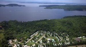 The Massive Family Campground In Vermont That's The Size Of A Small Town