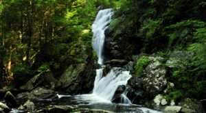 Your Kids Will Love This Easy 3/4-Mile Waterfall Hike Right Here In Connecticut