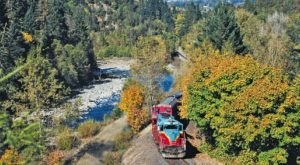 You've Never Experienced A Railroad Adventure Quite Like This Oregon Train Ride