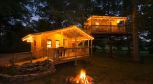 This Tucked Away Treehouse Just Might Be Your New Favorite Arkansas Getaway