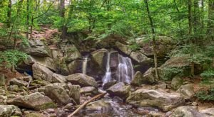 This Bewitching Waterfall In Massachusetts Is Hidden Just Out Of Sight