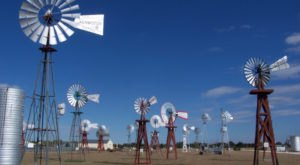 There's A Quirky Windmill Park Hiding Right Here In Texas And You'll Want To Plan Your Visit