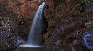 Most People Will Never See This Wondrous Waterfall Hiding In Colorado