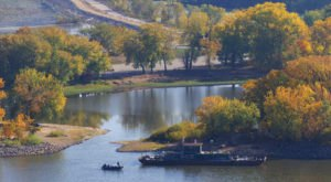Here Are The 8 Best Places For A Bird's-Eye View Of Iowa's Fall Foliage