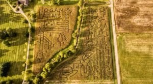 This Fall Farm In Indiana Has The Most Unique Corn Maze In The State