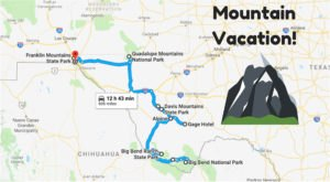 Everyone From Texas Should Take This Awesome Mountain Vacation Before They Die