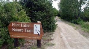 This 100 Mile Nature Trail Through Kansas Is Too Beautiful For Words