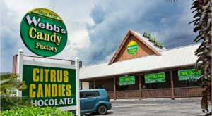 This Old-Fashioned Candy Shop & Factory In Florida Is A Welcomed Trip Down Memory Lane