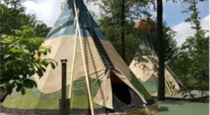 Spend The Night Under A Tepee At This Unique Pennsylvania Campground