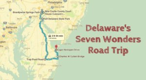 This Scenic Road Trip Takes You To All 7 Wonders Of Delaware
