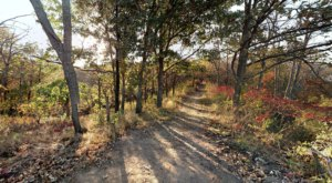 Hike Through Indian Cave State Park To See The Most Spectacular Fall Foliage In Nebraska