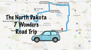 This Scenic Road Trip Will Take You To All 7 Wonders Of North Dakota