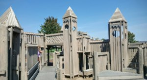 The Amazing Playground Fort In Michigan That Will Bring Out The Child In Us All