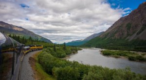 This 350-Mile Train Ride Is The Most Relaxing Way To Enjoy Alaska Scenery