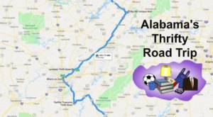 Take This Thrifty Road Trip In Alabama To Find The Best Bargains