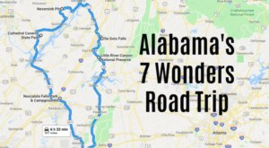 This Scenic Road Trip Takes You To All 7 Wonders Of Alabama