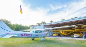 Spend The Night In This Old Florida Airplane Hanger For An Unforgettable Experience