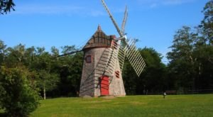 There's A Quirky Windmill Park Hiding Right Here In Massachusetts And You'll Want To Plan Your Visit
