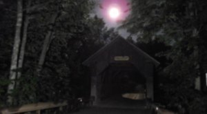 The Tale Of This Haunted Covered Bridge In Vermont Will Send Shivers Down Your Spine