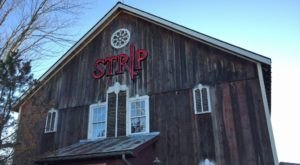 There's A Delicious Steakhouse Inside This Old Barn Near Cleveland That's Begging For A Visit