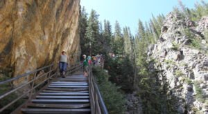 This Waterfall Staircase Hike May Be The Most Unique In All Of Wyoming