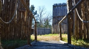 Most People Have No Idea There Are Remnants Of A Medieval Fortress Hiding In This Arkansas Forest