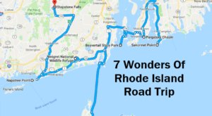 This Scenic Road Trip Takes You To All 7 Wonders Of Rhode Island