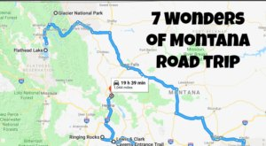 This Scenic Road Trip Takes You To All 7 Wonders Of Montana