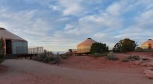 This Utah Park Has A Yurt Village That's Absolutely To Die For
