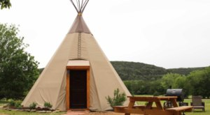 Spend The Night Under A TeePee At This Unique Texas Campground