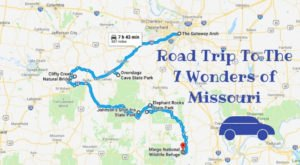 This Scenic Road Trip Takes You To All 7 Wonders Of Missouri