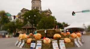 The Quirky Town Near Cincinnati That Transforms Into A Pumpkin Wonderland Every Fall