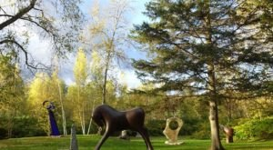 This Playful Art Park In Vermont Is Perfect For Your Next Outing
