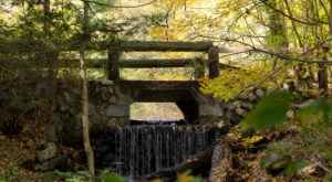 6 Out-of-This World Hikes In Massachusetts That Lead To Fairytale Foot Bridges