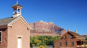 The Utah Ghost Town That's Perfect For An Autumn Day Trip
