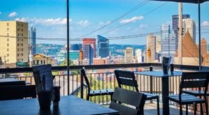 Treat Yourself To Spectacular City Views While You Eat At This New Mt. Washington Restaurant
