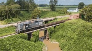 This 60-Mile Train Ride Is The Most Relaxing Way To Enjoy Mississippi Scenery