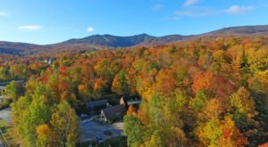 The Charming Little Vermont Inn That's Totally Surrounded By Fall Foliage