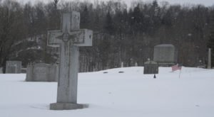 You Might Just Spot A Ghost At The Most Haunted Cemetery In Vermont