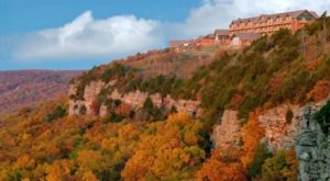 The Awesome Hike That Will Take You To The Most Spectacular Fall Foliage In Arkansas