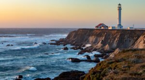 Spend The Night At This Lighthouse In Northern California For The Dreamiest Getaway