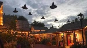 The Quirky Utah Village That Transforms Into A Witch's Wonderland Every Fall