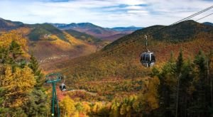 This Breathtaking Gondola Ride In New Hampshire Will Show You The Fall Colors Like Never Before