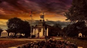 This Ghost Hunt In A Haunted Massachusetts Village Isn't For The Faint Of Heart
